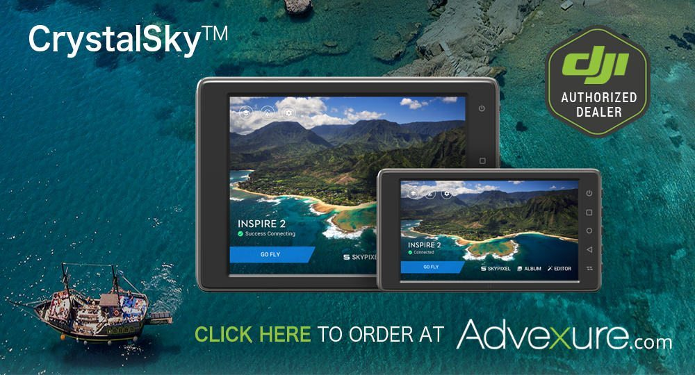 Order DJI CrystalSky Drone Monitor | Price, Release Date, Availability, In Stock