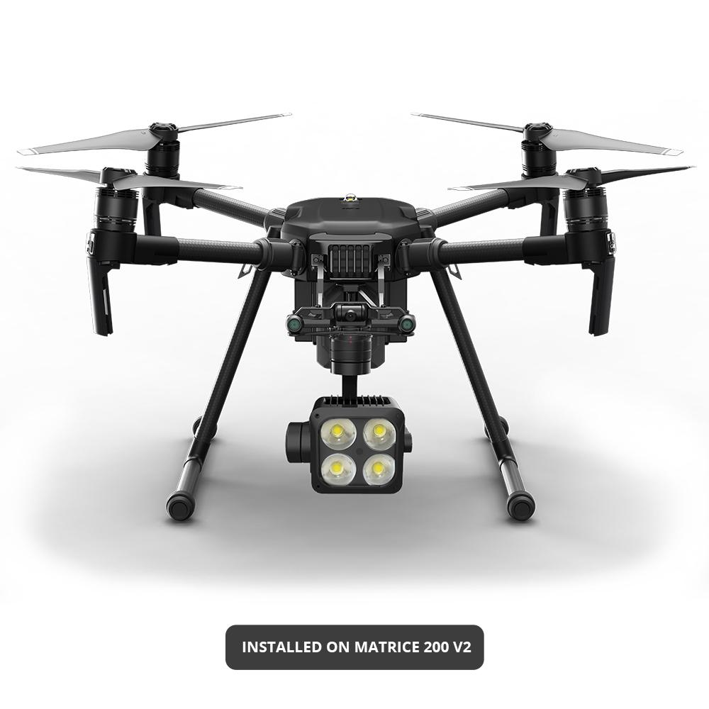 DJI Matrice 200 Series Z15 Gimbal Spotlight by Wingsland