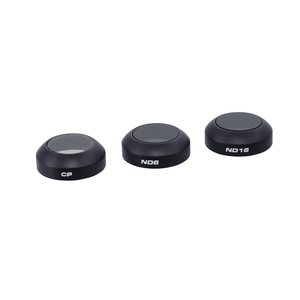 PolarPro Mavic Pro Filter 3-Pack (CP, ND8, ND16)