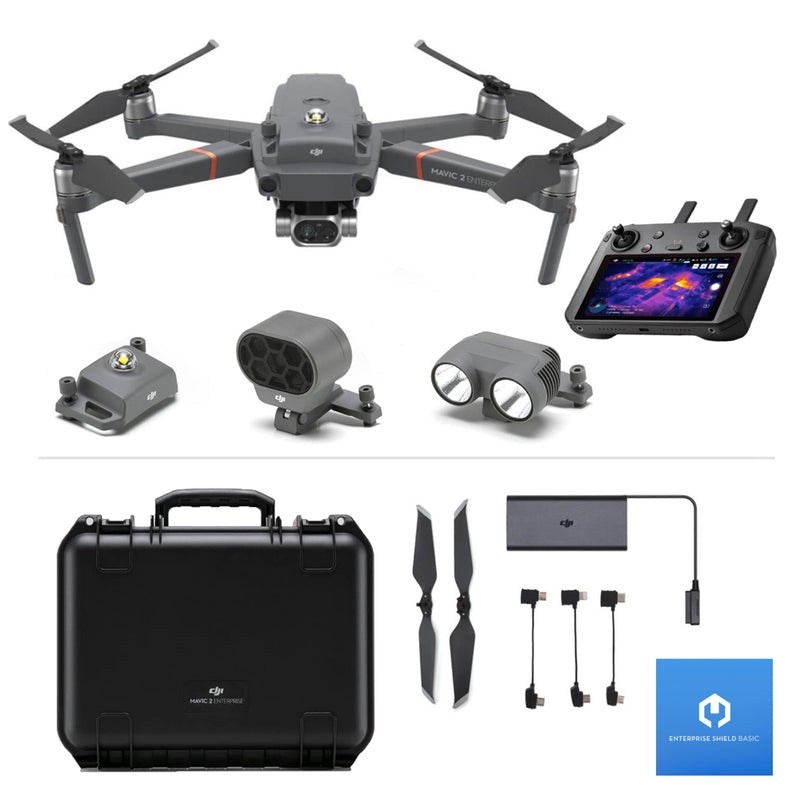 DJI Mavic 2 Enterprise (Dual) w/ Smart Controller and DJI Enterprise Shield Basic