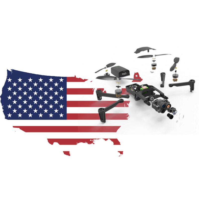 Parrot ANAFI USA – Triple Camera Drone System