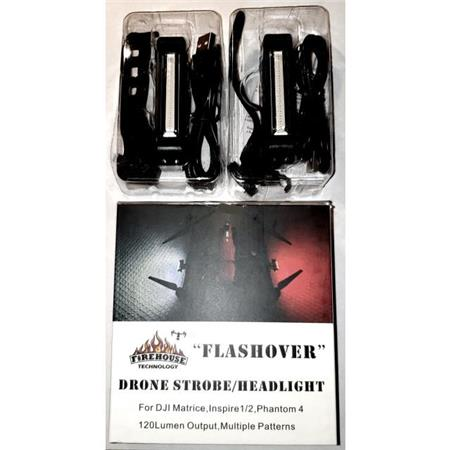 Flashover Public Safety Drone Strobe Light for Police & Fire (2-Pack)
