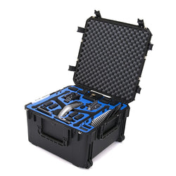 Go Professional Cases DJI Inspire 2 Landing Mode (V2) Wheeled Hard Case for Cendence, CrystalSky & More