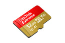 SanDisk 32GB Extreme Micro SD Card with Adapter