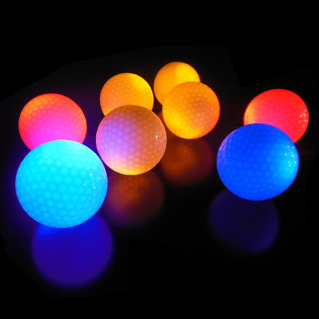 Glowing LED Golf Balls