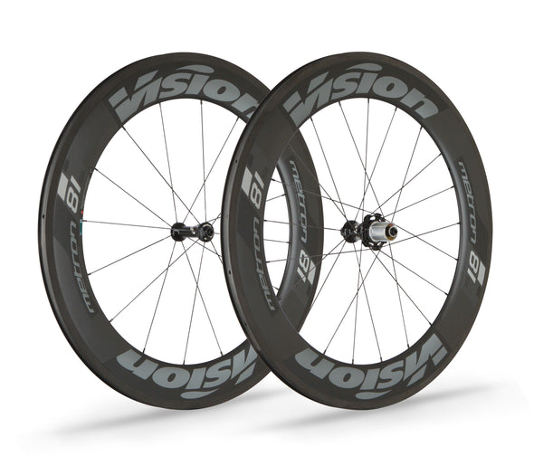 Vision Metron 81 wheelset - Cigala Cycling Retail