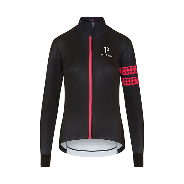 Baldo Long Sleeve Spring Jacket Fuchsia - PRIMO - Cycling Apparel