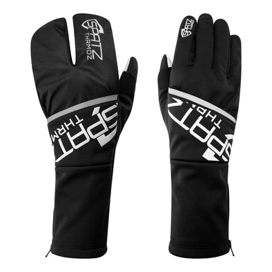 "SPATZ ""THRMOZ"" Deep Winter Gloves with fold-out wind blocking shell"