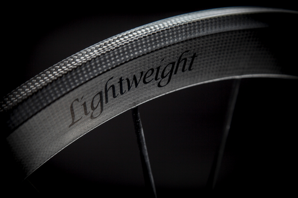 Lightweight Meilenstein T 24E Schwarz Edition Tubular – 24mm Rear Wheel