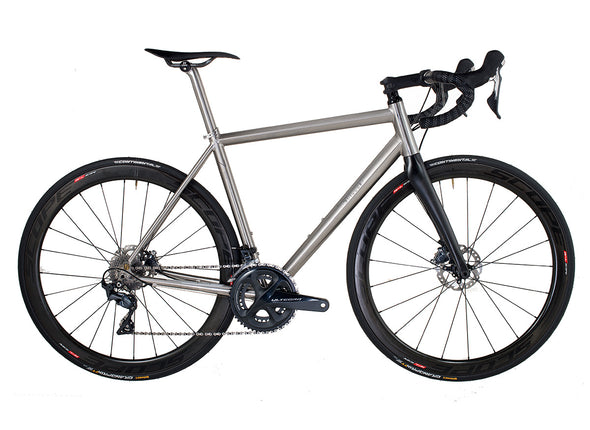 J.Guillem Formentor Disc Ultegra - SL (Titanium Seat Post, Ti. Seat Collar, SCOPE Wheels) - Cigala Cycling Retail