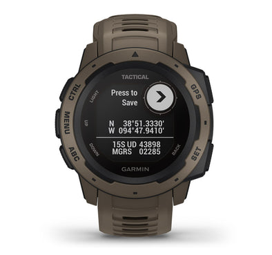 Garmin Instinct - Tactical Edition
