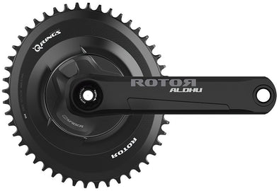 Rotor INSpider Builder FREE RINGS with 24mm Axle (Complete Crankset) - Cigala Cycling Retail