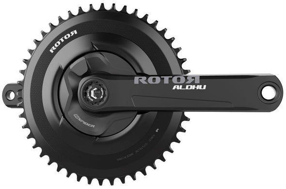 Rotor INSpider Builder FREE RINGS with 30mm Axle (Complete Crankset) - Cigala Cycling Retail