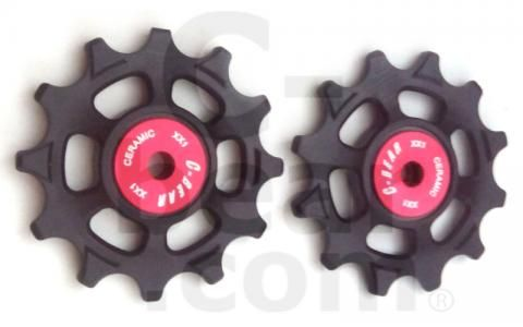 C-Bear Delrin Thermoplastic jockey Ceramic bearing pulley XX1(pull-xx1) - Cigala Cycling Retail