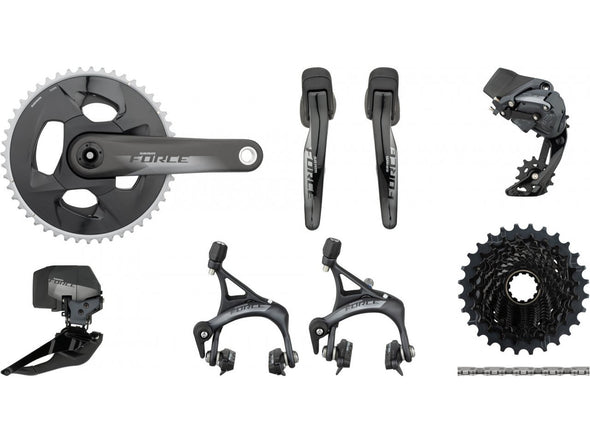 Sram Force eTap AXS 2x12s Wireless Road Groupset