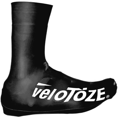 (NEW) veloToze Tall Shoe Cover 2.0 Black - Cigala Cycling Retail