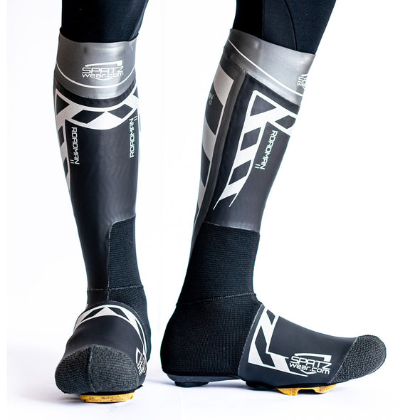 SPATZ 'Roadman 2' Super-Thermo Reflective Overshoes with Kevlar
