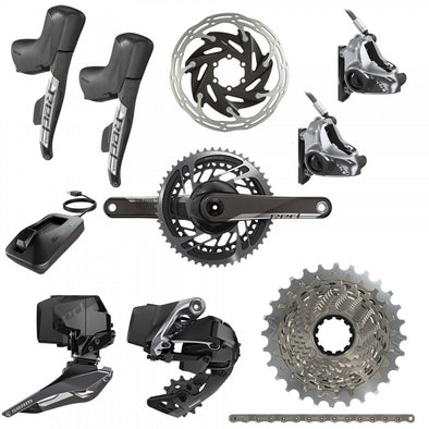 Sram Red eTap AXS HDR 2x12s Wireless Road Disc Groupset