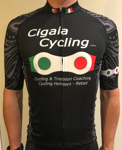 Cigala Cycling Jersey - Cigala Cycling Retail