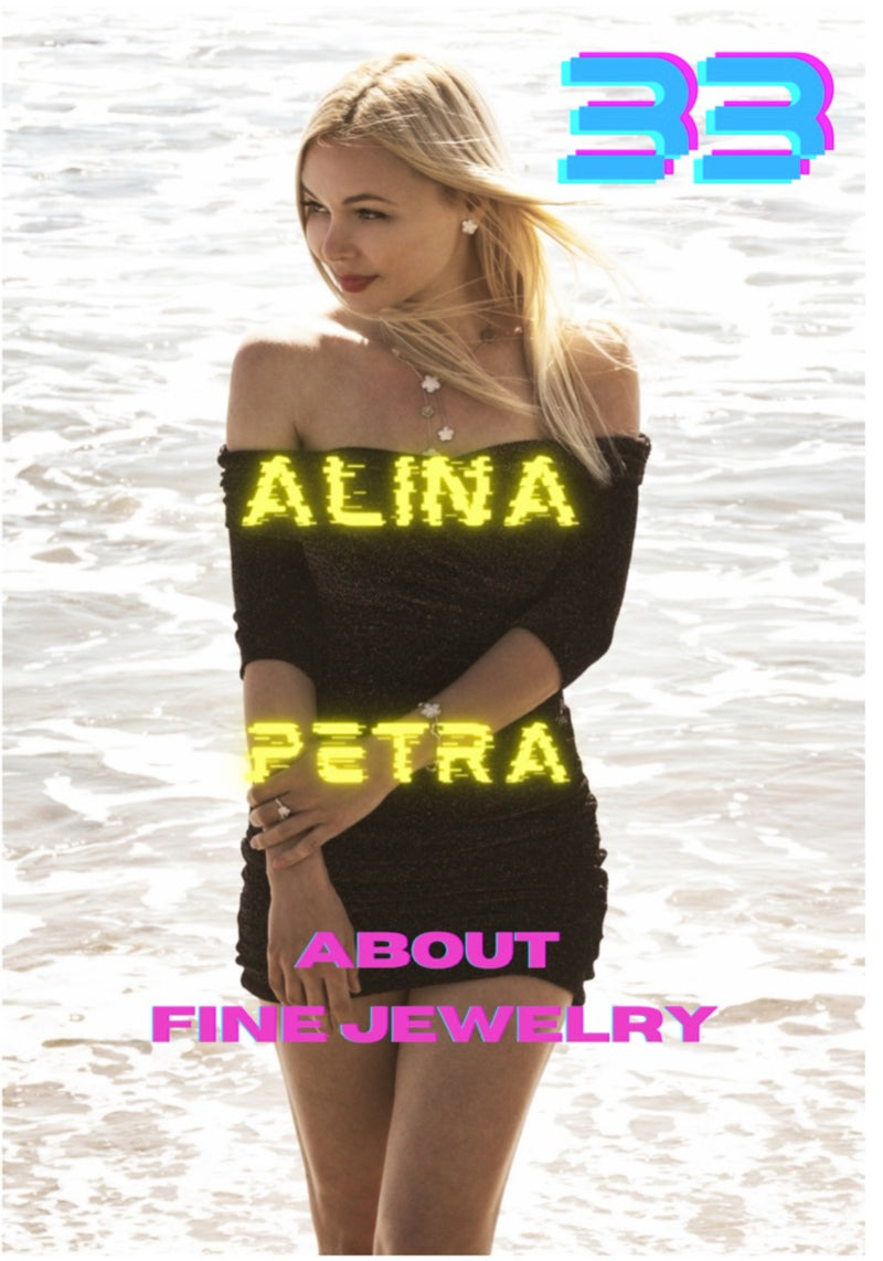 33 magazine: Alina Petra, cover + interview