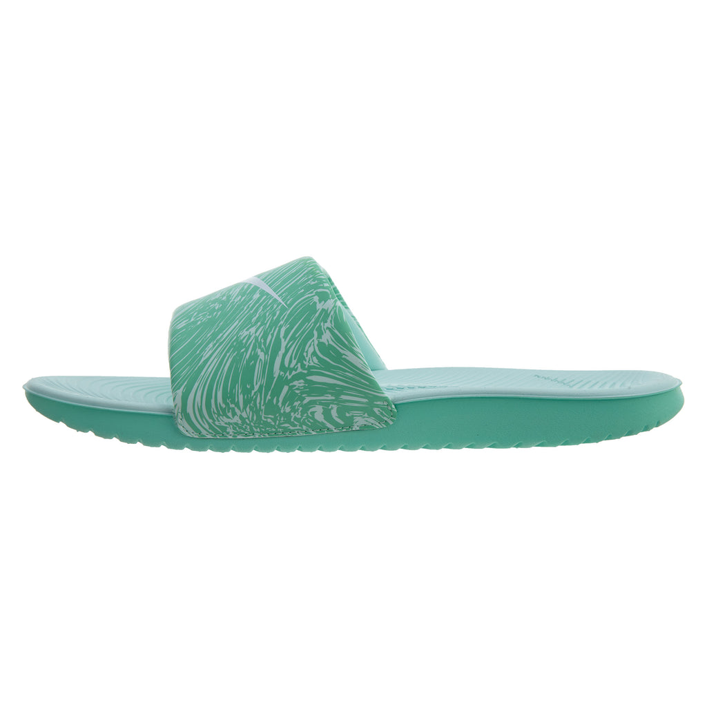 NIKE Kawa Slide Print Big Kids