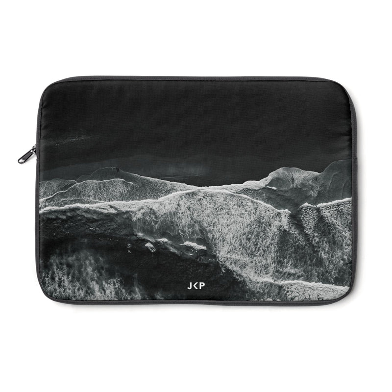 Black Beach Laptop Sleeve
