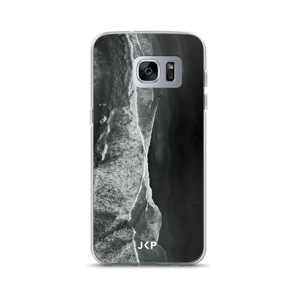 Black Beach Samsung Case