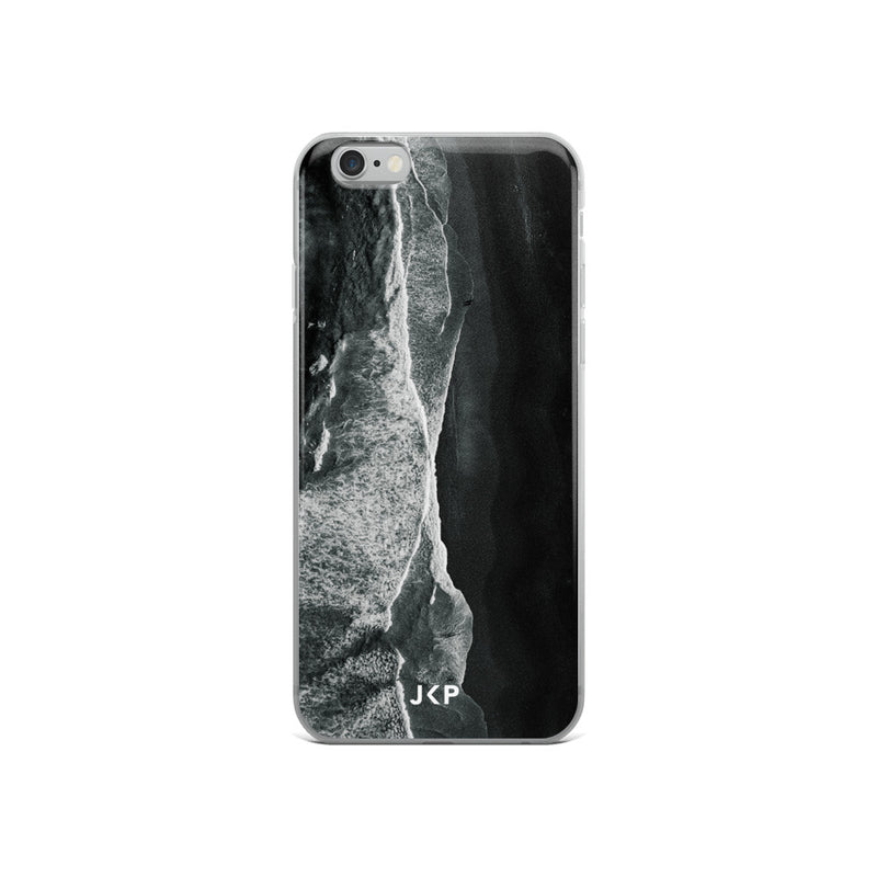 Black Beach iPhone Case