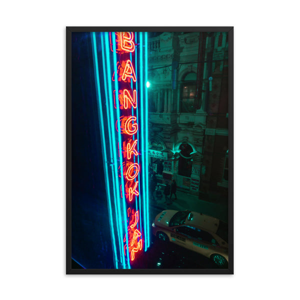Bangkok Neon Light Print