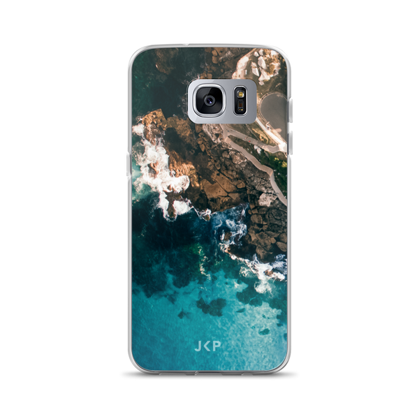 Rocks and Waves Samsung Case