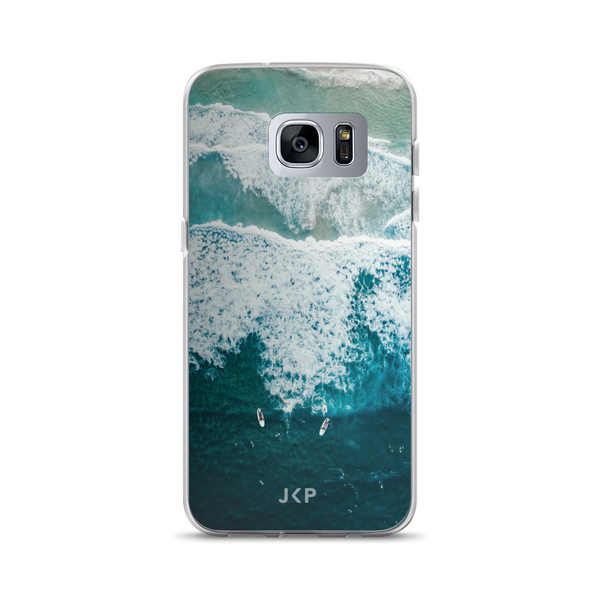 Surfer And Waves Samsung Case