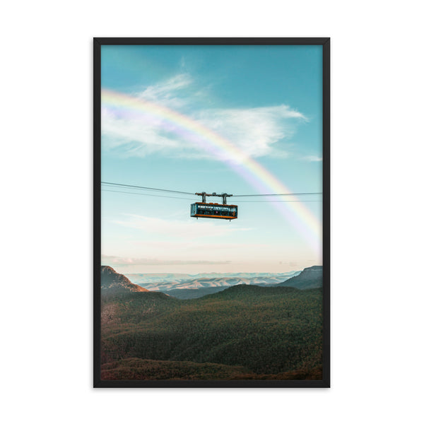 Skyway Rainbow Print