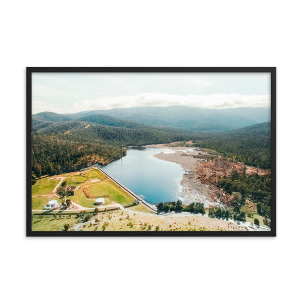 Reservoir and Lake Print