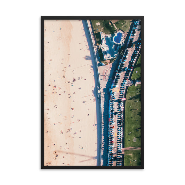 Beach and Coastal Road Print