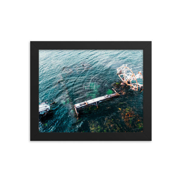 Ship Wreck Upclose Print