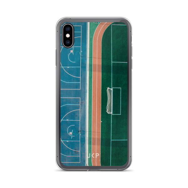 Spliced Court iPhone Case