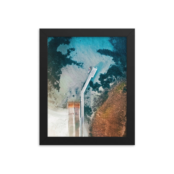 Pier From Above Print
