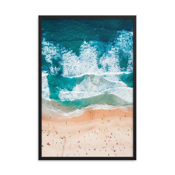 Bondi Beach Waves Print