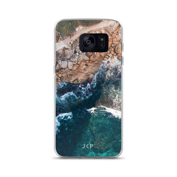 Waves And Stones Samsung Case