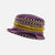 Purple & Gold Limited Edition Vintage Small Brim Hat