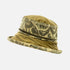 Ladies Limited Edition Olive Green Tapestry Vintage & Velvet Fabric Wide Brim Hat