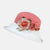 Two-Tone Linen Sun Hat with Silk Flower