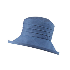 Small Brim, Packable Linen Sun Hat