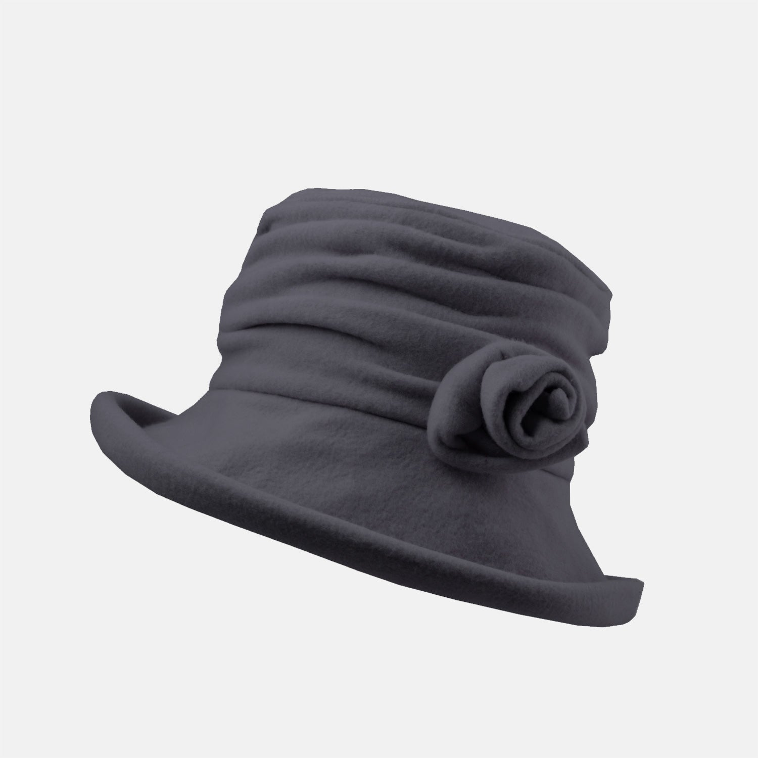 1bc89fb2c09 PT17 - Cosy Fleece Hat with Detachable Flower – Proppa Toppa Hats