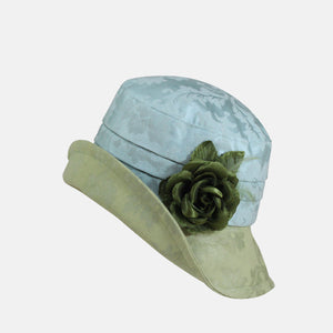 PT28 - Soft Brim Damask with Flower