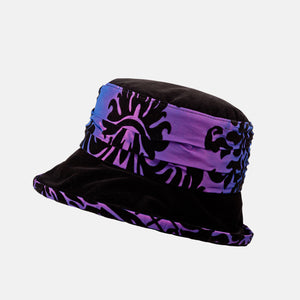 PT70 - Paisely and Velour Water Resistant Hat