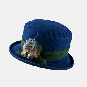 PT87 - Water Resistant Small Brim Velour Hat