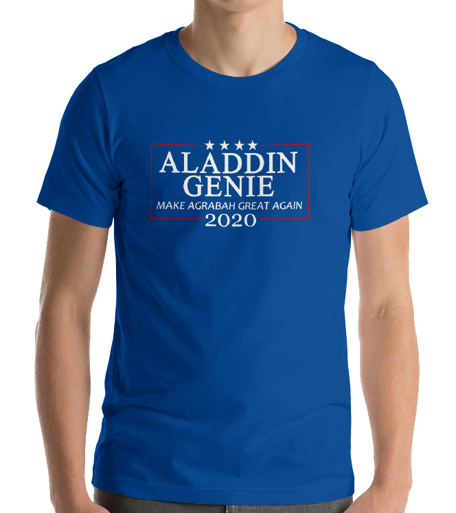 Aladdin Genie 2020 Election Tee