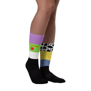 Sheriff and Lightyear - Toy Story Inspired Socks - Disney World - Unisex