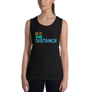 Go The Distance - Womens Flowy Tank